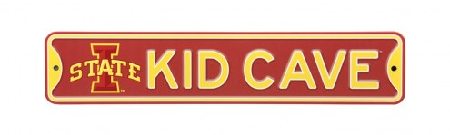 Iowa State Cyclones Kid Cave Street Sign