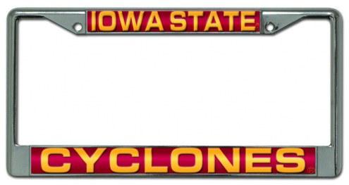 Iowa State Cyclones Laser Cut License Plate Frame