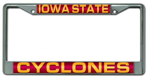 Iowa State Cyclones Laser Cut License Plate Frame