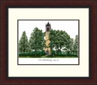 Iowa State Cyclones Legacy Alumnus Framed Lithograph