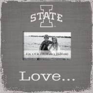Iowa State Cyclones Love Picture Frame