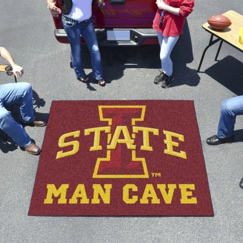 Iowa State Cyclones Man Cave Tailgate Mat