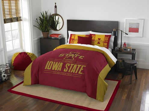 Iowa State Cyclones Modern Take Full/Queen Comforter Set