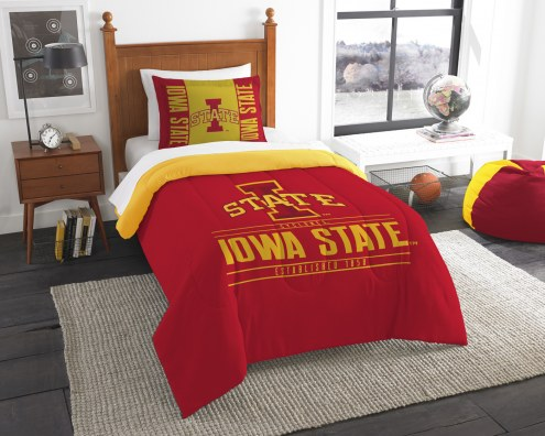 Iowa State Cyclones Modern Take Twin Comforter Set
