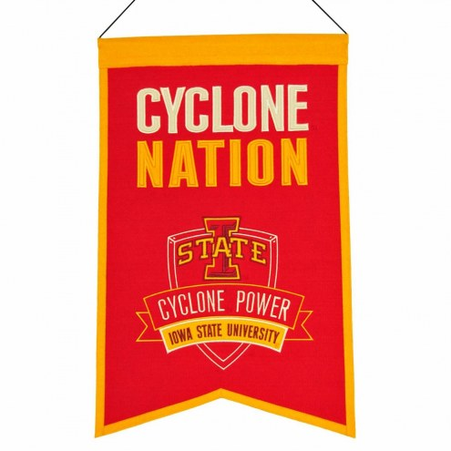 Iowa State Cyclones Nations Banner