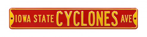 Iowa State Cyclones NCAA Embossed Street Sign