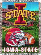 Iowa State Cyclones NCAA Woven Tapestry Throw Blanket