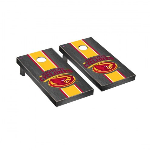 Iowa State Cyclones Onyx Stained Cornhole Game Set