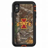 Iowa State Cyclones OtterBox iPhone X Defender Realtree Camo Case