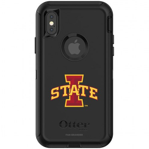 Iowa State Cyclones OtterBox iPhone X/Xs Defender Black Case