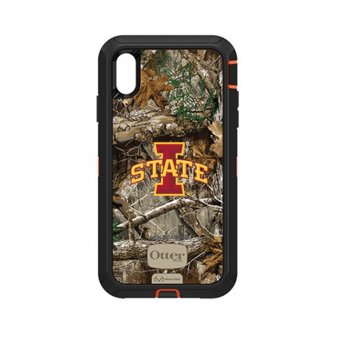 Iowa State Cyclones OtterBox iPhone XS Max Defender Realtree Camo Case