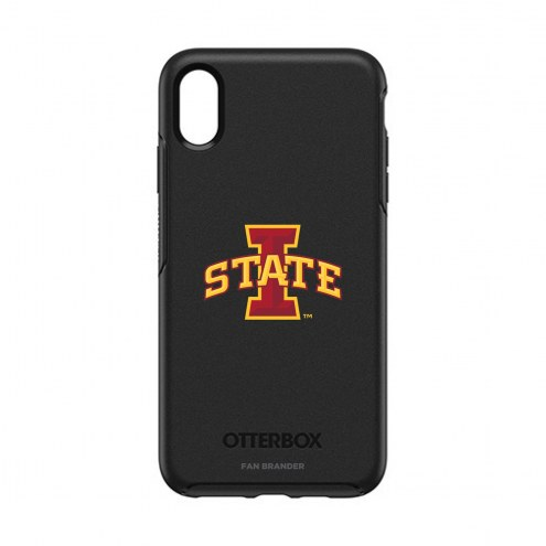 Iowa State Cyclones OtterBox iPhone XS Max Symmetry Black Case