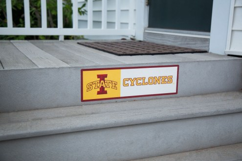 Iowa State Cyclones Outdoor Step Graphic