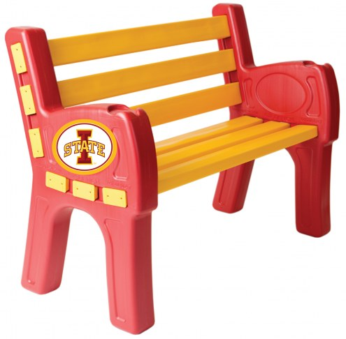 Iowa State Cyclones Park Bench