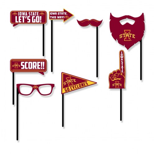 Iowa State Cyclones Party Props Selfie Kit