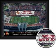 Iowa State Cyclones 11 x 14 Personalized Framed Stadium Print