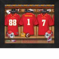Iowa State Cyclones Personalized Locker Room 11 x 14 Framed Photograph