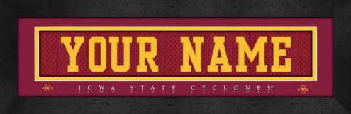 Iowa State Cyclones Personalized Stitched Jersey Print