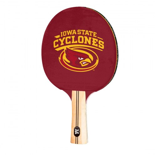 Iowa State Cyclones Ping Pong Paddle