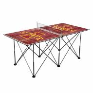 Iowa State Cyclones Pop Up 6' Ping Pong Table
