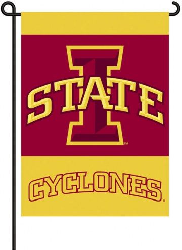 Iowa State Cyclones Premium 2-Sided Garden Flag