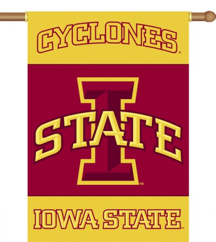 "Iowa State Cyclones Premium 28"" x 40"" Two-Sided Banner"