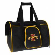 Iowa State Cyclones Premium Pet Carrier Bag