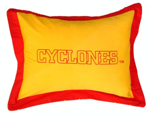 Iowa State Cyclones Printed Pillow Sham