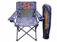 Iowa State Cyclones RealTree Camo Tailgating Chair
