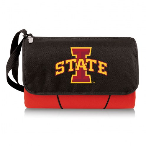 Iowa State Cyclones Red Blanket Tote