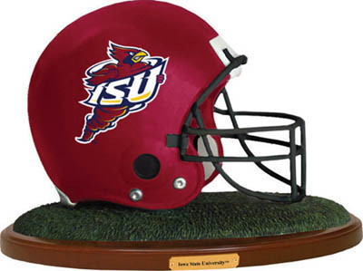 Iowa State Cyclones Collectible Football Helmet Figurine