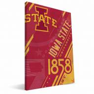 Iowa State Cyclones Retro Canvas Print