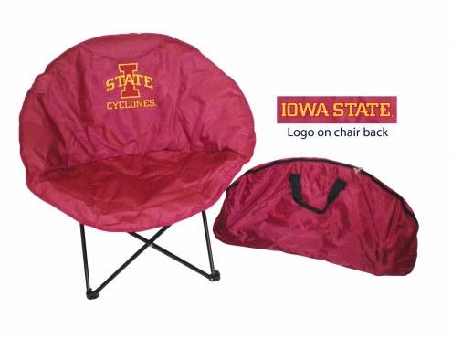 Iowa State Cyclones Rivalry Round Chair