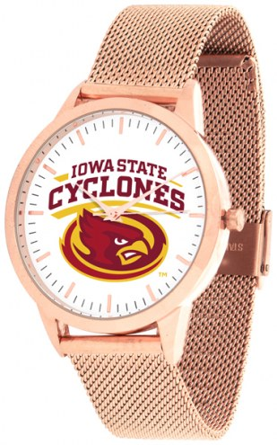 Iowa State Cyclones Rose Mesh Statement Watch