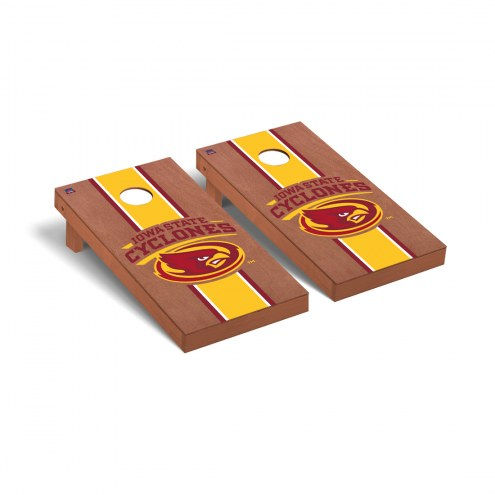 Iowa State Cyclones Rosewood Stained Cornhole Game Set