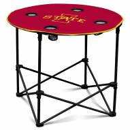 Iowa State Cyclones Round Folding Table