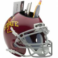 Iowa State Cyclones Schutt Football Helmet Desk Caddy
