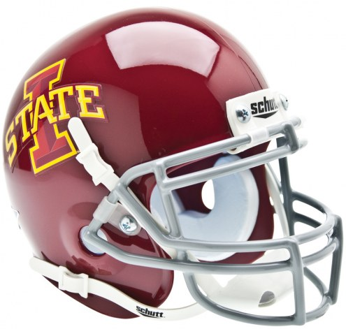 Iowa State Cyclones Schutt Mini Football Helmet