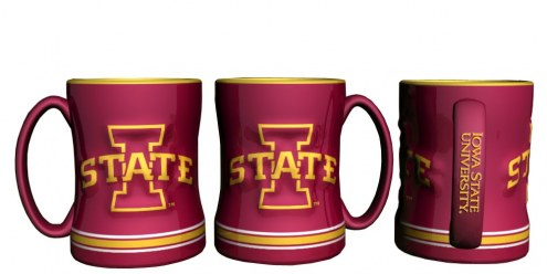 Iowa State Cyclones Sculpted Relief Coffee Mug