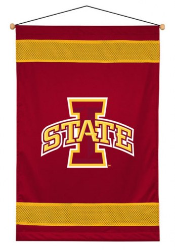 Iowa State Cyclones Sidelines Wall Hanging