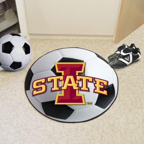 Iowa State Cyclones Soccer Ball Mat