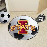 Iowa State Cyclones Soccer Ball Mat
