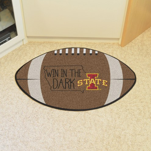 Iowa State Cyclones Southern Style Football Floor Mat