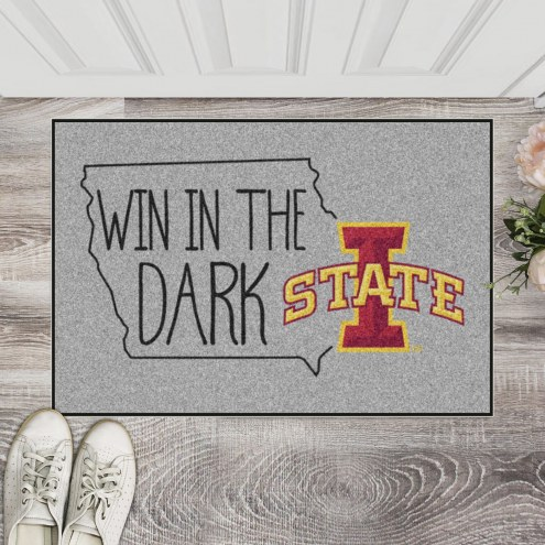 Iowa State Cyclones Southern Style Starter Rug