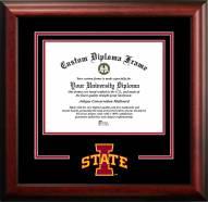 Iowa State Cyclones Spirit Diploma Frame