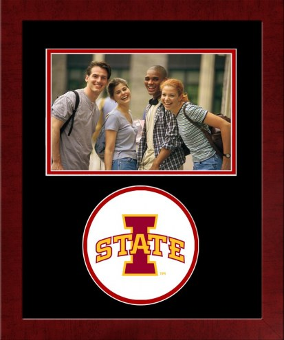 Iowa State Cyclones Spirit Horizontal Photo Frame