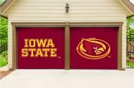 Iowa State Cyclones Split Garage Door Banner