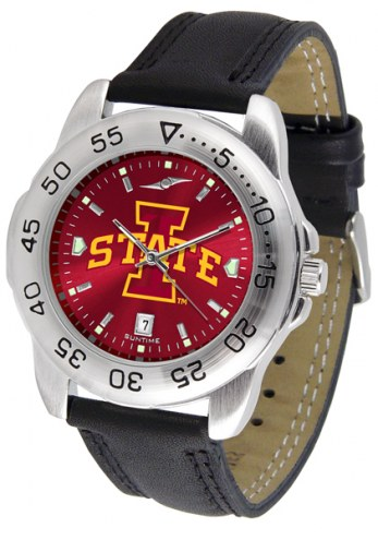 Iowa State Cyclones Sport AnoChrome Men's Watch