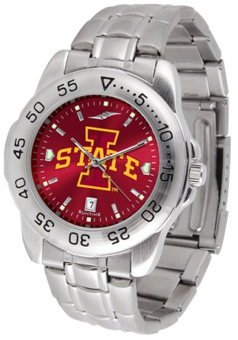 Iowa State Cyclones Sport Steel AnoChrome Men's Watch