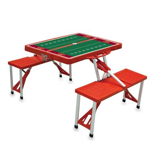 Iowa State Cyclones Sports Folding Picnic Table